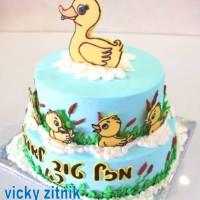 עוגת זילוף ברווזים