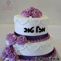 עוגת זילוף קומות