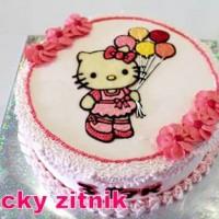 עוגת זילוף קיטי