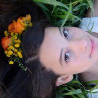 שזירת פרחים לשיער